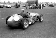 HWM F2 Reg Parnell at Winfield Scotland 1951